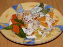 Knoblauch-Involtinies - Rezept