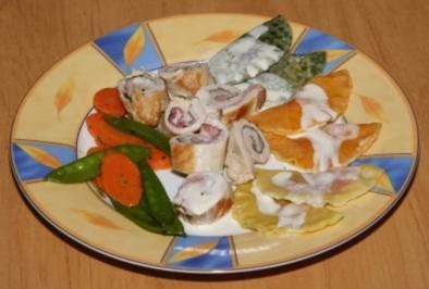 Rezept: Knoblauch-Involtinies