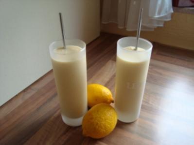*Drinks ohne Alkohol - Pfirsich mit Buttermilch - Rezept