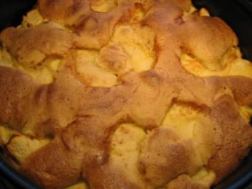Apfel-Bisquit - Rezept