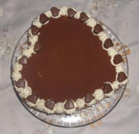 Valentins-Torte - Rezept
