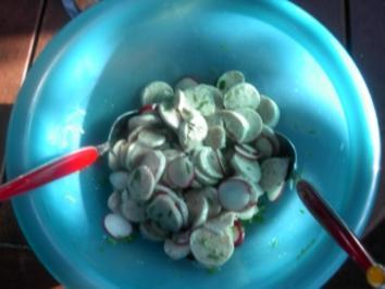 Weißwurstsalat - Rezept