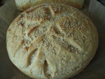 Krustenbrot oder auch Bierbrot bzw. Kartoffelbrot - Rezept