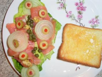 Lachsröllchen Gourmet - Rezept