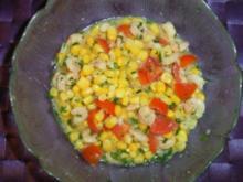 Maissalat mit Krabben - Rezept