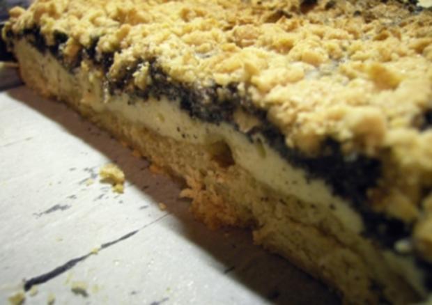 Kuchen: Mohn-Apfel-Topfen-Streusel - Rezept - Bild Nr. 12