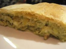 Pikantes Gebäck: Zwiebel-Käse-Strudel - Rezept