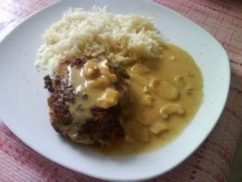 Rezept: Pleskavica mit Reis und