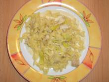 Nudel-Fisch-Pfanne - Rezept
