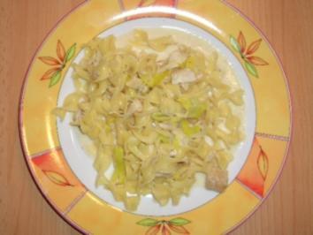 Rezept: Nudel-Fisch-Pfanne