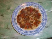 Spagetti Alla Bolognese - Rezept