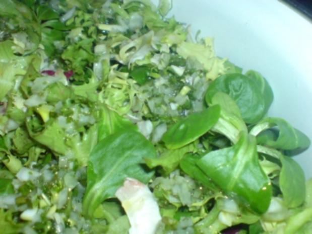 Vinaigrette für klassische Blattsalate - Rezept