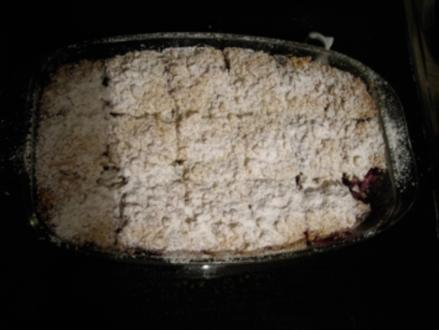 Kuchen: Streusel-Käsekuchen mit Obst - Rezept