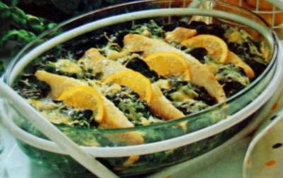 Rezept: Fisch Florentiner Art