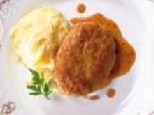 Faschiertes Butterschnitzel - Rezept