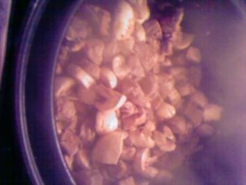 Schweinescharfes Biergulasch - Rezept