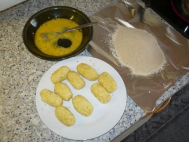 Kartoffelkroketten ganz einfach - Rezept