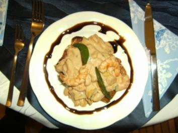 Hummer- oder Krabbencocktail - Rezept
