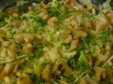 Apfel-Porree-Salat, pikant - Rezept