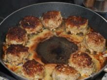 """Peterle""-Kartoffeln  mit Frikadellen - Rezept"