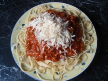 Spaghetti Bolognese - Rezept