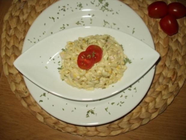 Wenn sich die Nudel in die Salatsoße legt.... - Rezept - Bild Nr. 2