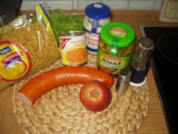 Wenn sich die Nudel in die Salatsoße legt.... - Rezept - Bild Nr. 4