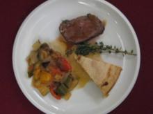 Rindfleisch mit Gemüse - Faux-filet a la Landaise - Rezept