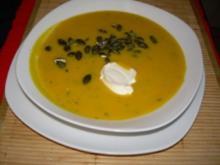 Kürbiskernsuppe - Rezept