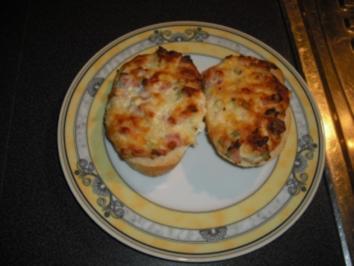 Pizzabrötchen a la Provoncal - Rezept