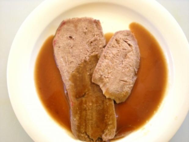 FLEISCH: Kalbszunge an Madeirasauce - Rezept - Bild Nr. 2