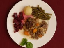 Tafelspitz mit Meerrettich und Rote-Bete-Salat (Domenica Niehoff) - Rezept