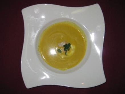 Fruchtiges Currysüppchen - Rezept