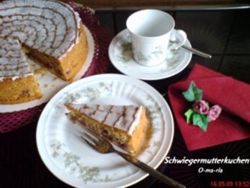 Kuchen  Schwiegermutterkuchen - Rezept