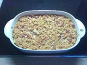Nudel-Schinken-Auflauf - Rezept