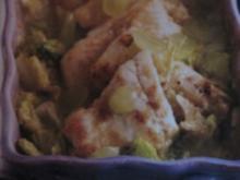 Gebackener Zander auf Trauben-Selleriegemüse - Rezept