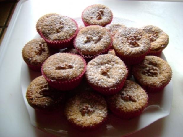Muffins: Walnuss Kirsch Muffins - Rezept - Bild Nr. 3