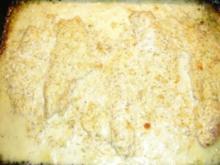 Fischfilet mit Käsecreme überbacken - Rezept