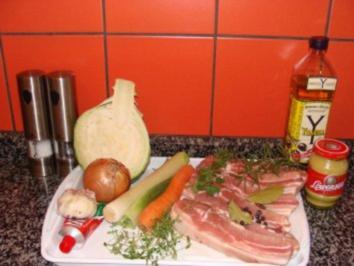 """Fleisch : -Bier-Schweinerippchen- """" Böhmerwald"""" - Rezept"""