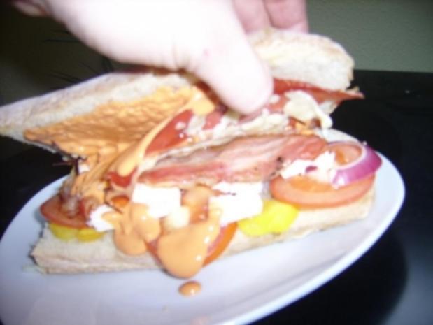 Weltbestes Sandwich - Rezept