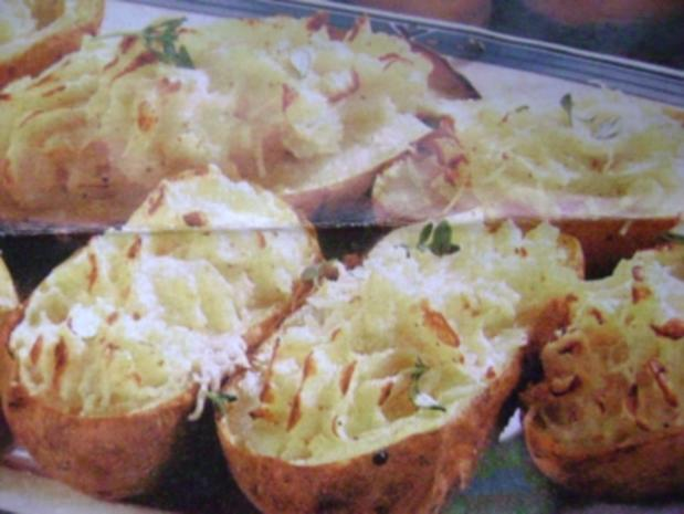 Überbackene Quark-Kartoffeln - Rezept