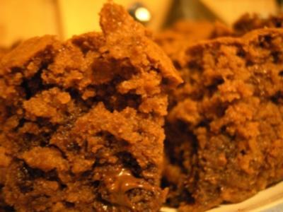 Kuchen: Schokokuchen oder Brownies - Rezept