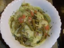 Bohnen Gurken Tomaten Salat - Rezept