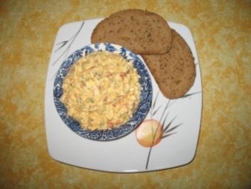 Eier-Käsesalat - Rezept