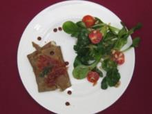 Bretonischer Buchweizencrepe mit Bayonne-Schinken - Rezept