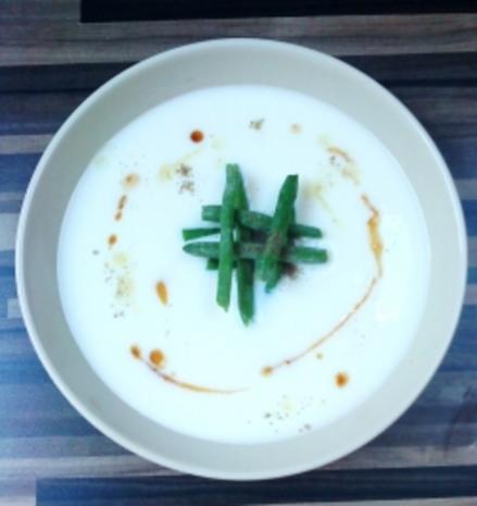 Buttermilch-Bohnen-Suppe - Rezept
