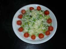 Broccoli Risotto mit Erbsen - Rezept