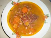Bohnen Suppe - Rezept