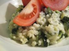 Zucchini-Risotto - Rezept