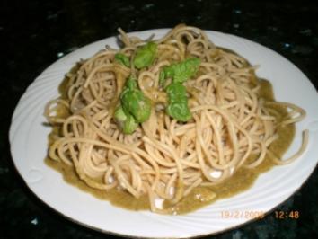 Knoblauchspaghetti - Rezept